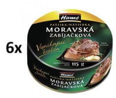 Hamé Moravská zabíjačková paštika 6x 115 g