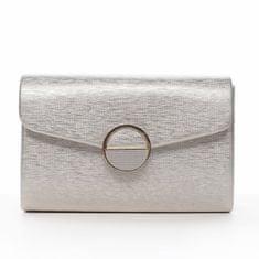Michelle Moon Zaujímavá dámska pevná listová kabelka Valére, zlatá
