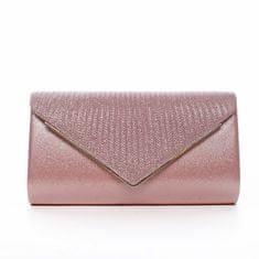 Michelle Moon Dámska listová kabelka s ozdobnou klopou Landry, ružová