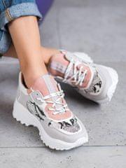 Trendy tenisky dámské vícebarevné bez podpatku