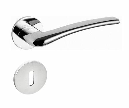 Infinity Line Vento S O 700 chrom SLIM - okucia do drzwi - rozeta bb (na klucz)