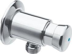 SILFRA QUIK samouzavírací nástěnný pisoárový ventil, chrom (QK10051)