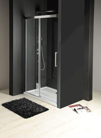 Gelco FONDURA posuvné dveře 1200mm, čiré sklo (GF5012)