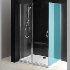 Gelco ONE sprchové dveře s pevnou částí 1000 mm, čiré sklo (GO4810)