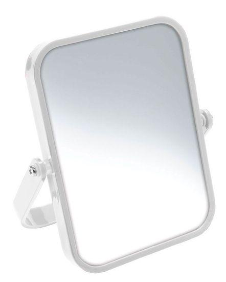 AQUALINE ELENA kosmetické zrcátko na postavení, bílá (CO2022)