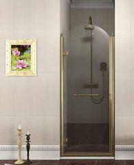 Gelco ANTIQUE sprchové dveře otočné, levé, čiré sklo, bronz