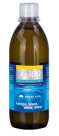 Pharma Activ Koloidné striebro Ag100 (50ppm) 500 ml