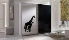 Maridex Šatní skříň Tulsa 4 žirafy