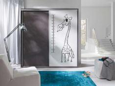 Maridex Pagani šatní skříň - žirafa