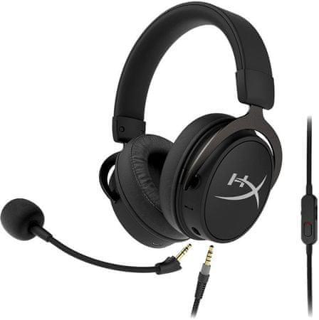 HyperX HyperX Cloud MIX gaming slušalice, Bluetooth, crne