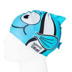 Born To Swim Dětská plavecká čepice- rybka