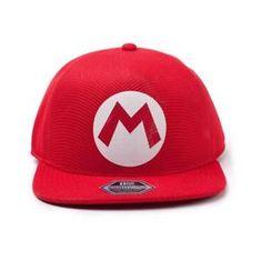Difuzed Nintendo: Super Mario Badge Seamless Cap kapa sa šiltom