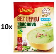 Vitana Bez lepku Hrachová se slaninou polévka 10x 74g