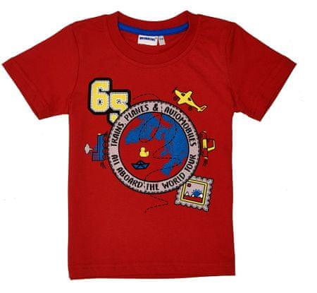 WINKIKI majica za dječake, 98, crvena