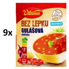 Vitana Bez lepku Gulášová polévka 9x 60g