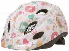 Polisport Kids Premium otroška kolesarska čelada, Loli Multi