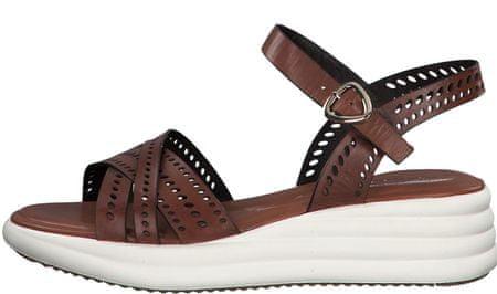 Tamaris 28056 ženski sandali, 36, rjavi