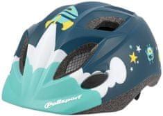 Polisport Kids Premium dječja biciklistička kaciga, Space, 48-52