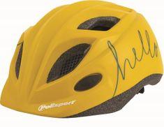 Polisport Kids Premium otroška kolesarska čelada, Hello, 52-56