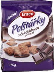 EMCO Plnené vankúšiky s čokoládovou príchuťou 12 × 175 g