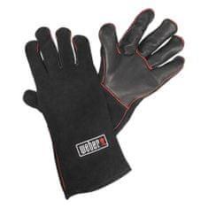 WEBER Kožené grilovacie rukavice , Kožené, 1 pár