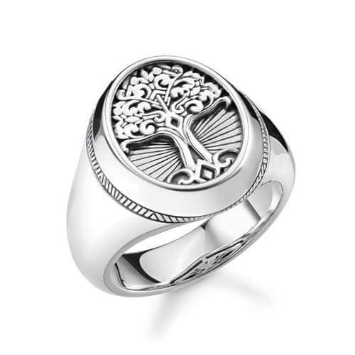 """Thomas Sabo Prsteň """"Strom lásky"""" Thomas Sabo, TR2245-637-21-62, Sterling Silver, 925 Sterling silver, blackened"""