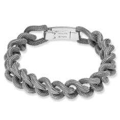 """Thomas Sabo Náramok """"Káthmándú"""" Thomas Sabo, A1332-637-12-L20,5, Sterling Silver, 925 Sterling silver, blackened"""