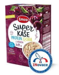 EMCO Super kaše Protein a chia s višeněmi 14× 3x55 g