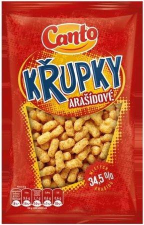 CANTO Chrumky arašidové maxi 24 × 200g