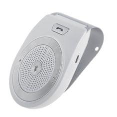 MasterMobile Handsfree Bluetooth STANDARD do auta na stínítko bílé