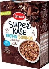 EMCO Super kaša proteín a quinoa s čokoládou 14 × 3x55 g