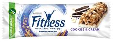 Nestlé Fitness tyčinka Cookies and Cream 16 × 24 g