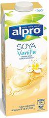Alpro Soya Vanilla sójový nápoj 8 × 1l