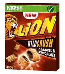 Nestlé Lion Wildcrush Snídaňové cereálie 16 × 360 g