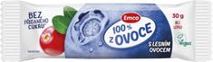 EMCO Tyčinka 100% ovocia lesné ovocie 30 × 30 g