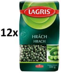 Lagris Hrách zelený celý 12× 500g
