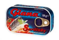 Giana Sardinky v tomatové omáčce 24 x 125 g