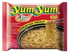 YumYum Instantní nudlová polévka krevetová příchuť 30× 60 g