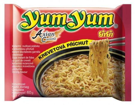 YumYum Instantná rezancová polievka krevetová príchuť 30 × 60 g