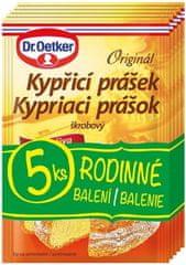 Dr.Oetker 60×Originál kypriaci prášok do pečiva 5ks 60 g