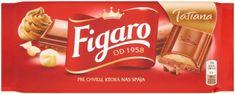 FIGARO Mliečna čokoláda 23× 90 g
