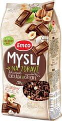 EMCO 12× Mysli Křupavé Čokoláda a ořechy 750 g