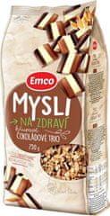 EMCO 12× Müsli Chrumkavé Čokoládové trio 750 g