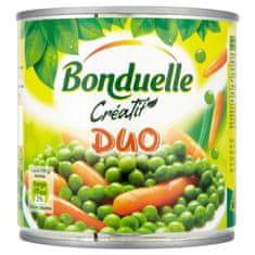 Bonduelle Créatif Duo zeleninová zmes v mierne sladkom náleve 12× 400 g