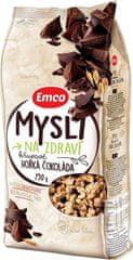 EMCO 12× Müsli Chrumkavá Horká čokoláda 750 g