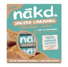NAKD Salted Caramel Multi pack 4x35g 12 × 140g