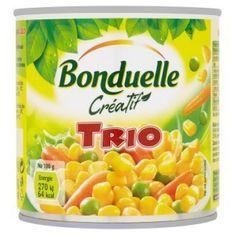 Bonduelle Créatif Trio zeleninová zmes v mierne slanom náleve 12 × 400 g