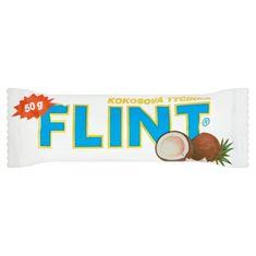 FLINT Kokosová tyčinka v bielej poleve 35 × 50 g