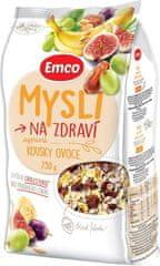 EMCO 12× Mysli na Zdraví Sypané mysli s kousky ovoce 750 g