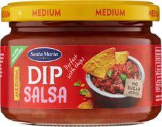 SANTA MARIA Tex Mex Salsa dip medium 12 × 250 g
